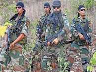 CRPF personnel will retain family at deployed place
