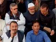 Omar Abdullah led National Conference protests outside JK assembly