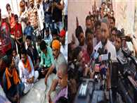 Muslim leaders went to Iklak home, Hindu leader's went to temples or in school