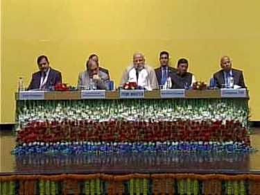 modi meets with  Prime Minister's Rural Development Fellows