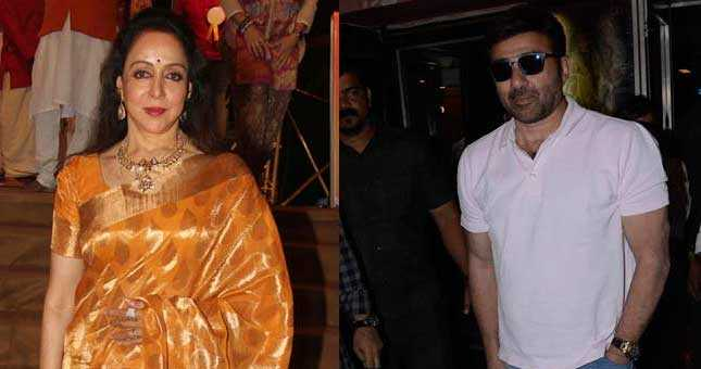 Hema Malini says Sunny Deol is a nice human being like his father