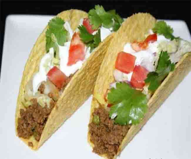 Crispy Masala Tacos