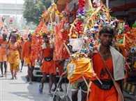 Kanwad mela started in haridwar
