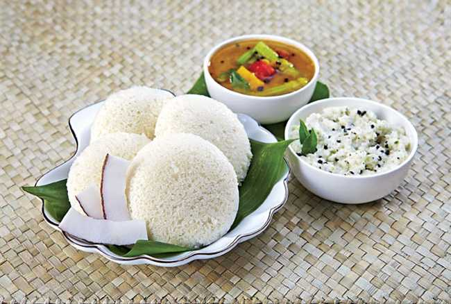 Idli is ready