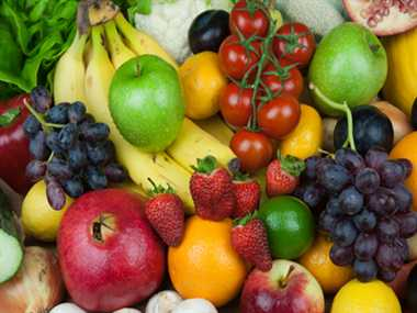 Benefits  of colored  vegetables and fruits
