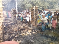 civic A fire in the home, including fourteen Malipur animal burns