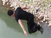 Boy Jump In River After Dispute With Lover