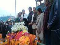 sushma Swaraj and all party leaders pay  tribute to sushil koirala