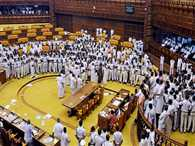 uproar in Kerala assembly on Solar scam