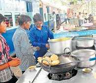 willfulness of caterers in train
