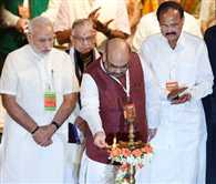 BJP National Council Meet to Ratify Amit Shah as Party Chief