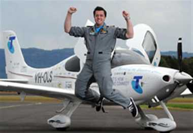 Ryan Campbell, 19, flies to a new world record