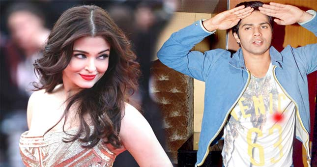 Aishwarya Rai rejects Varun Dhawan