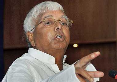 Lalu says, Modi not fit for PM post