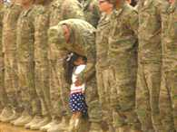 Daddy's Little Girl Interrupts Military Ceremony to Welcome Him Home