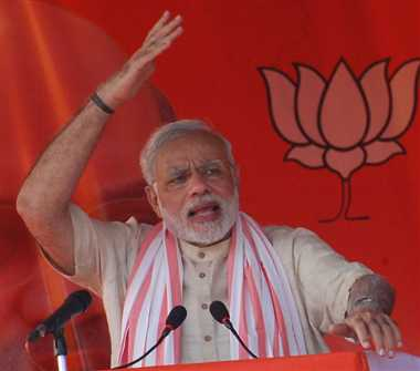 Even police is not safe in Bihar : Narendra Modi