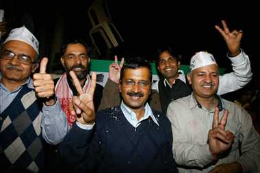 five reason of AAP victory and congress loss