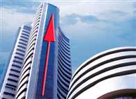 Sensex hits new record high of 21,483.74, surging 487.21