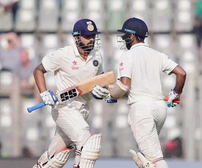 Pujara and Vijay on the way to big partnership