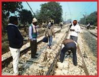 ... Red flag Gateman Rukwai by train