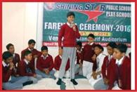 Shining Star School in the boom Farewell