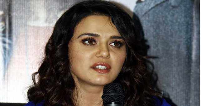 Actress Preity Zinta BREAKS her silence on marriage News