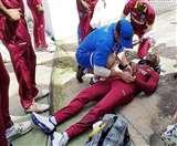 फिल्डिंग के दौरान खतरनाक हादसे का शिकार हुआ ये क्रिकेटर, जानें क्या हुआ