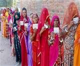 धौलपुर विधानसभा सीट पर उप चुनाव में 80 प्रतिशत मतदान