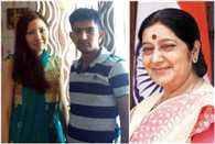 external affairs minister sushma swaraj asks for visa extension of Jahna