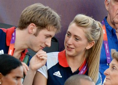 Olympics 2012: Romance In Velodrome