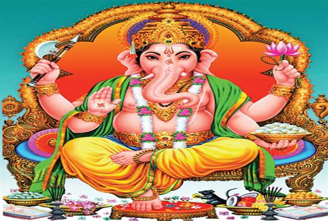 First Shri ganesh