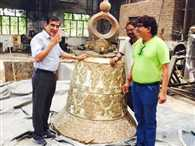 Ratangarh Mata temple in the country most Weighing Bell