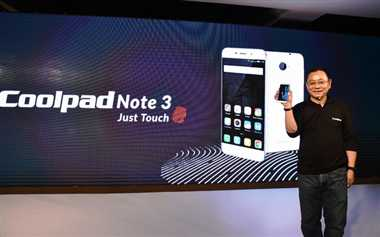 CoolPad Note 3 is a Rs.8,999 phone with 3GB RAM and a fingerprint scanner