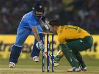 South Africa never won biletarel ODI series in India