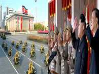North Korea ready for any us war leader tells anniversary parade