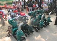 At subsidized rates ranging from pump-sets Rotavator
