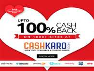 get best of the deals with cashkaro and avail cashback offers and discounts