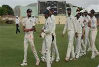 Mishra takes four as India warm up game ends in draw