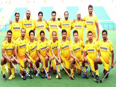 Indian hockey team left for Asian Games