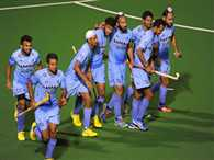 Indian hockey team return to India after defeating Australia