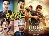'फुकरे रिटर्न्स' समेत इन 5 फ़िल्मों के पार्ट 2 रहे हिट, अब 'टाइगर ज़िंदा है' पर नज़र