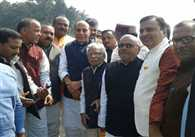 Rajnath Singh Reached Gorakhpur