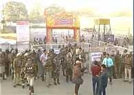 havan ritual started in dhar, heavy security deployed