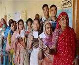 धौलपुर में एक बूथ पर फिर हुआ मतदान