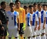 भारत की अंडर 17 विश्व कप की फुटबॉल टीम यूरोप के टूर पर रवाना