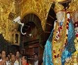 गुरु पूर्णिमा पर साईबाबा मंदिर को दान में मिले 5.52 करोड़