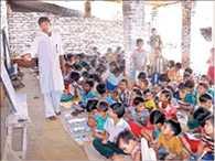 The school was dedicated to Guru Dakshina to Modi