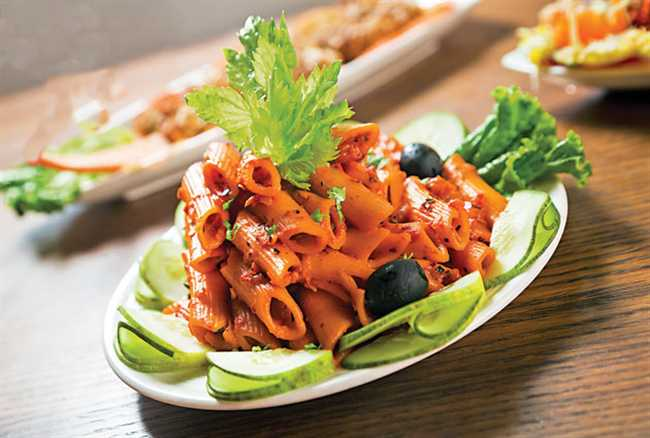 Construct Healthy pasta