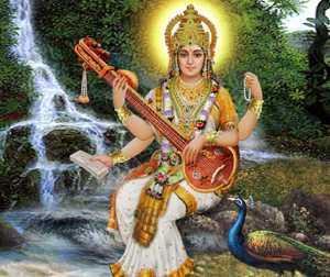ब्रह्माजी की पुत्री और पत्नी हैं देवी सरस्वती