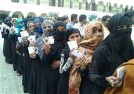 Voting In Progress In Vidhansabha By Elections In UP